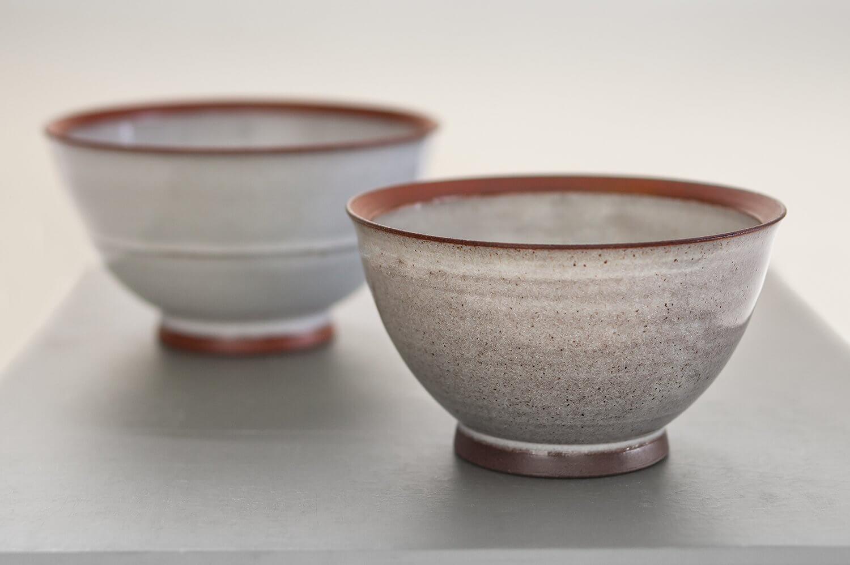 Handmade ceramics bowls photographed for ceramic artist Graham Hudson