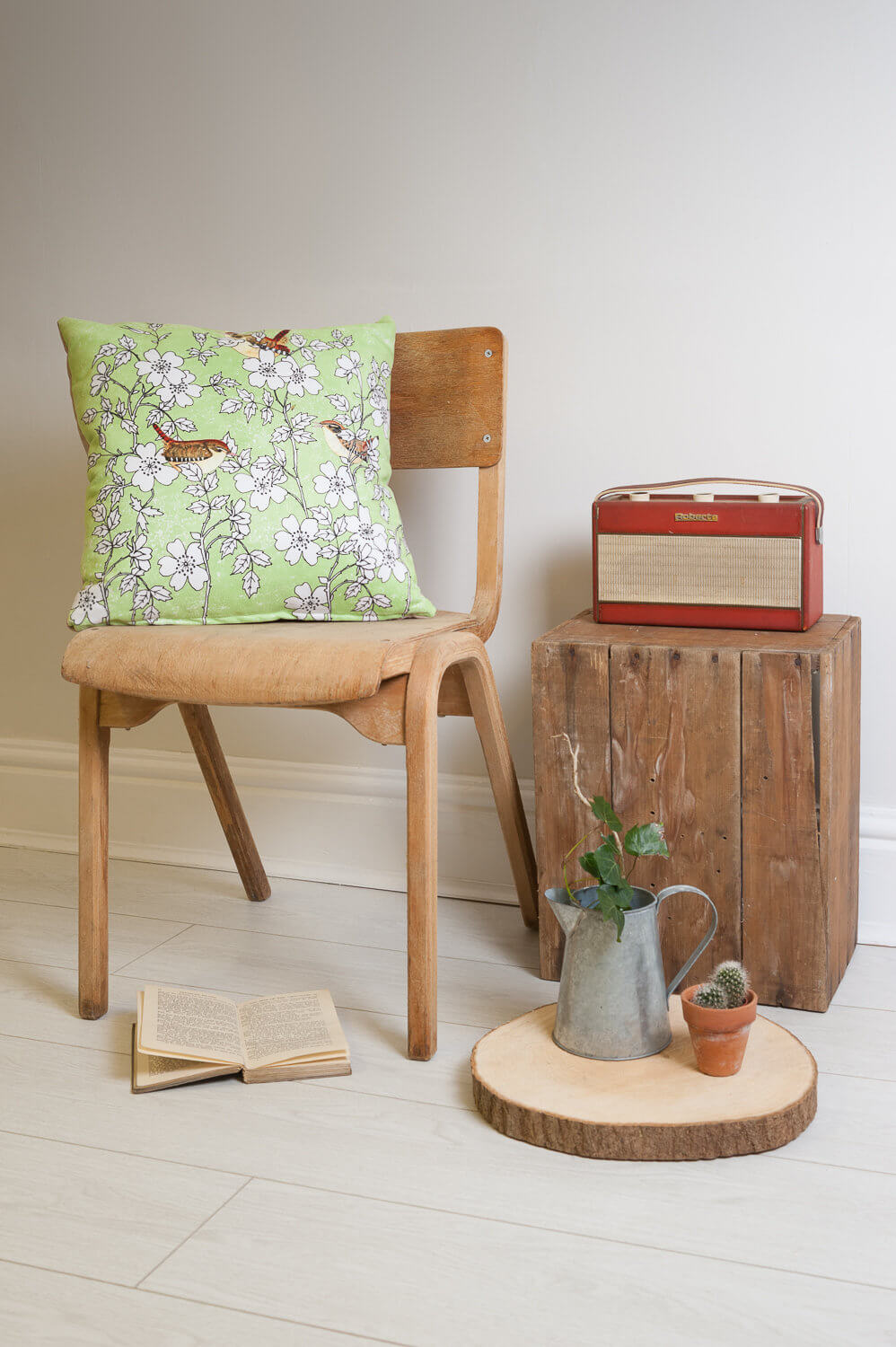 Homewares photography with retro props