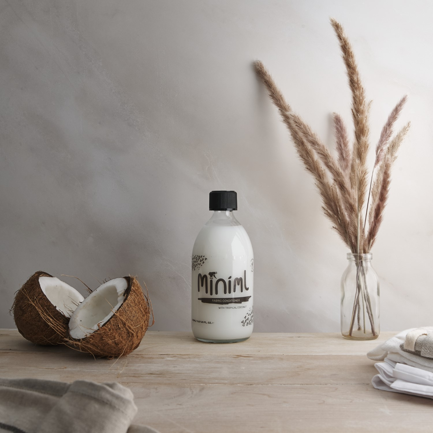 An apothecary type product photograph demonstrating the use of marble stone backdrop