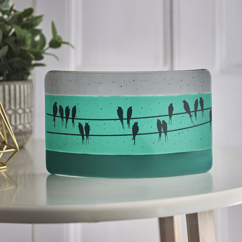 A photograph of handmade glassware
