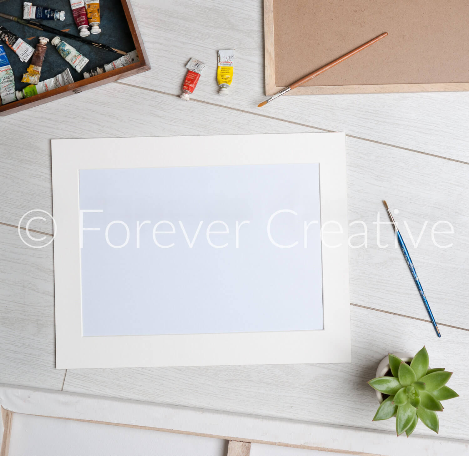 Blank stock photography for an artist producing framed prints