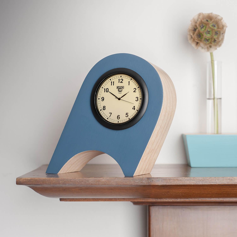 Handmade clock by designer makers Humblewood