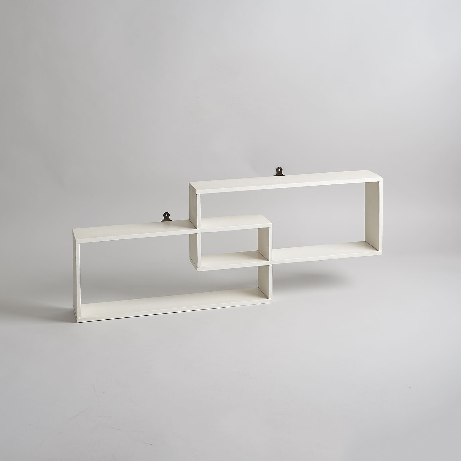 Modernist wall shelving unit