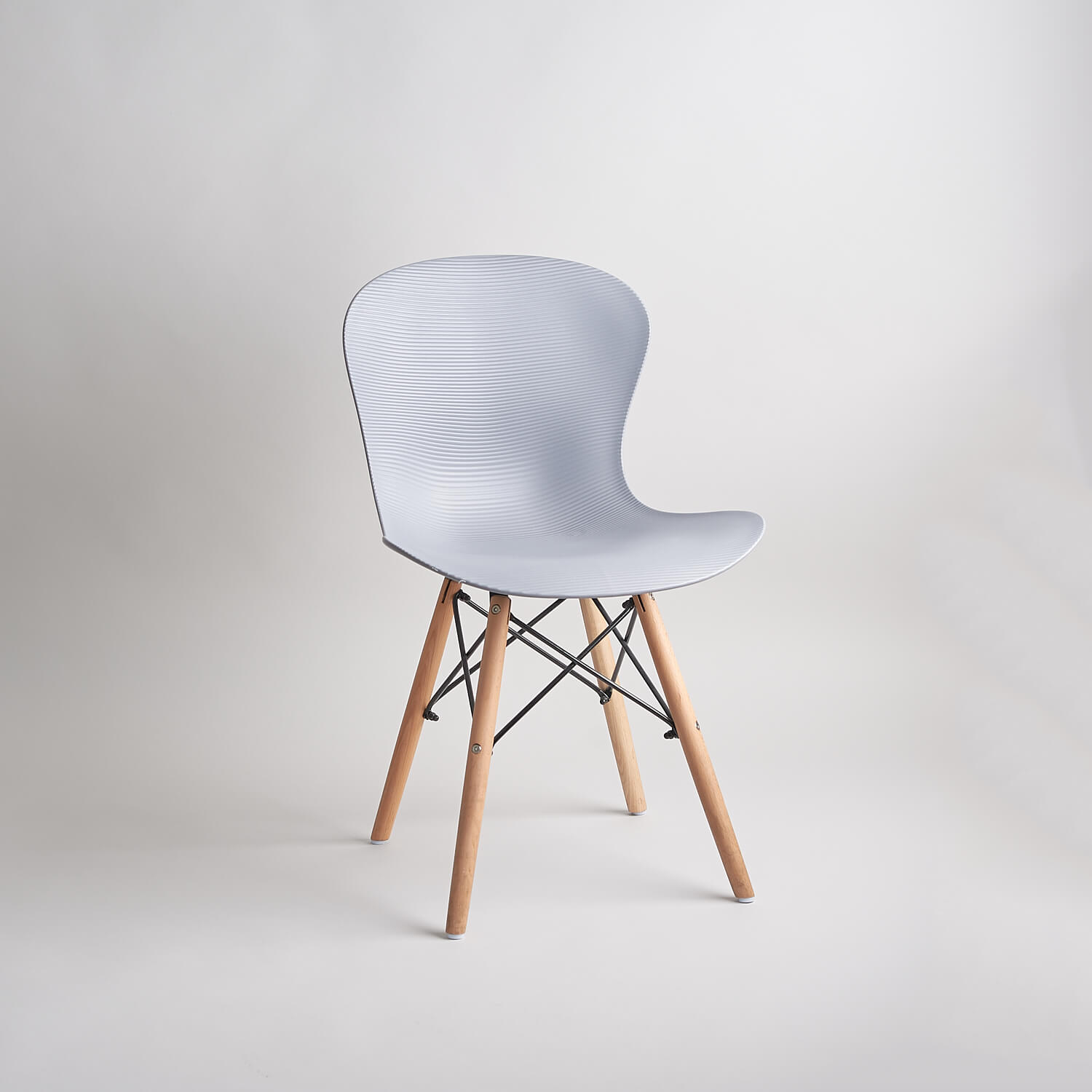 Charles Eames 'Eiffel' style chair part of the studio's stock of furniture