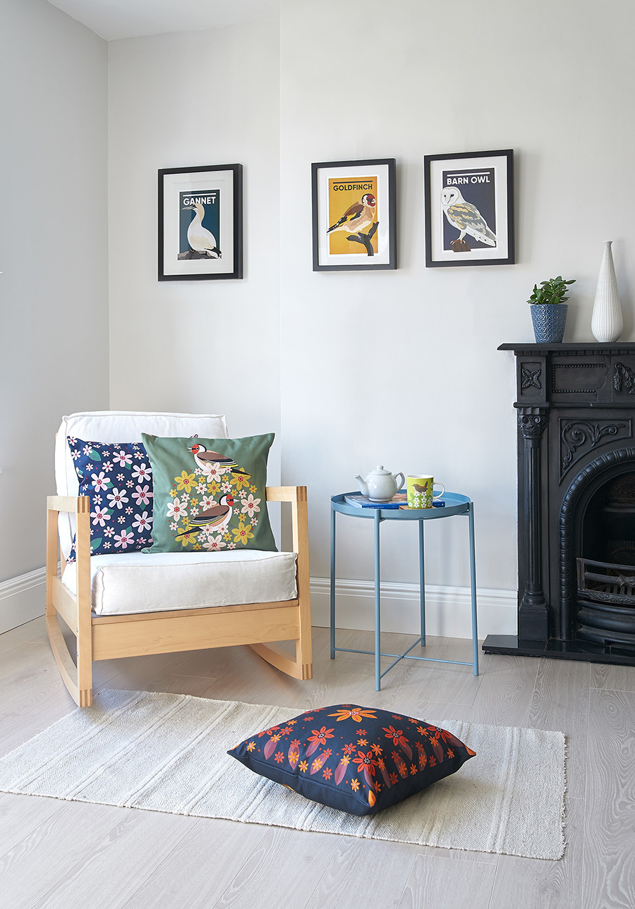 A studio lifestyle photograph created for the Yorkshire Wildlife Trust